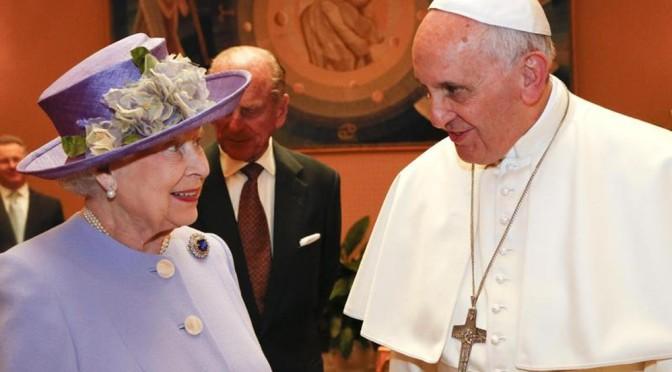 MàJ du 15/03/2018 Dernier pape, dernière reine ?