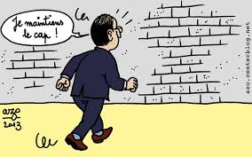 Droit dans le mur…