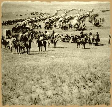 Le Général D. Trumpette charge en territoire amérindien