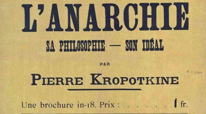 «Lettre aux ouvriers d'Europe de l'Ouest»  Pierre Kropotkine, Dmitrov, Russie, le 28 avril 1919