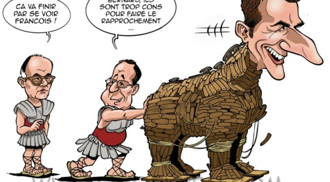 Macron un cheval de Troie américain à l'Élysée par Wayne Madsen