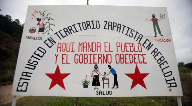 Paroles Zapatistes d'hier et d'aujourd'hui…