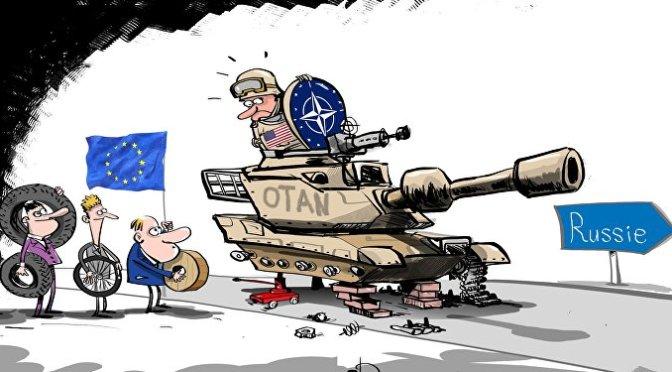 Le néonazisme en Europe est OTAN par Manlio Dinucci via R71 source Comité Valmy