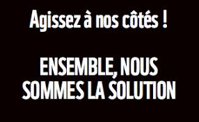Nous sommes la solution…