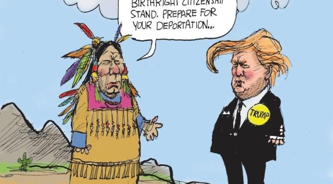 Les  scouts de l'Amérique par Mohawk Nation News via R71 & mon grain de sel…
