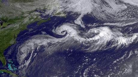Des ouragans en rafales…
