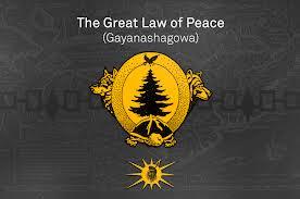 Paix – Pouvoir & Rectitude invitation de la Nation Mohawk