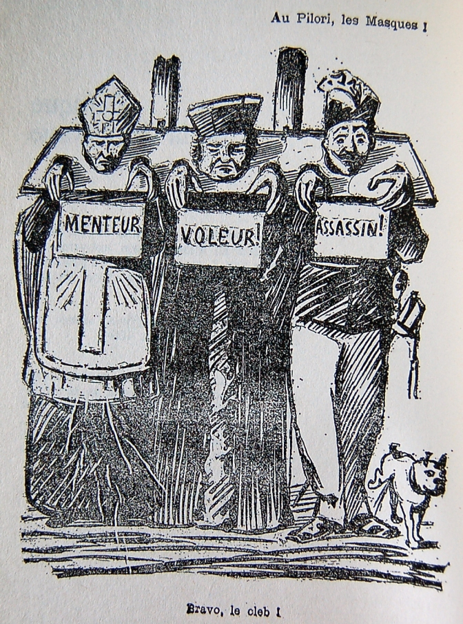 #balancetonporc en 1893 du temps du Père Peinard…