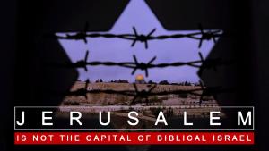 Non M. Trump ; Jérusalem n'est pas la capitale de l'Israël biblique, par le Dr. Ashraf Ezzat
