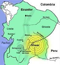 Les peuples autochtones SHUARS vs Sté Minière Chinoise (EXSA) en Équateur (MàJ le 17/07/19)
