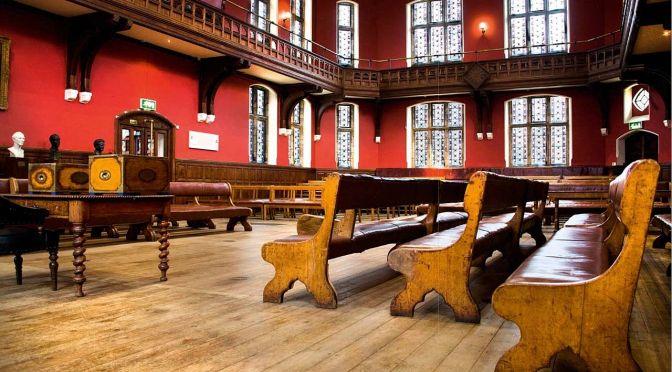 La conférence de Kevin Annett à L'Oxford Union qui n'a jamais eu lieu pour cause de censure…