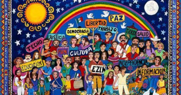 Dans l'Esprit Zapatiste : L'humain naît de la diversité !