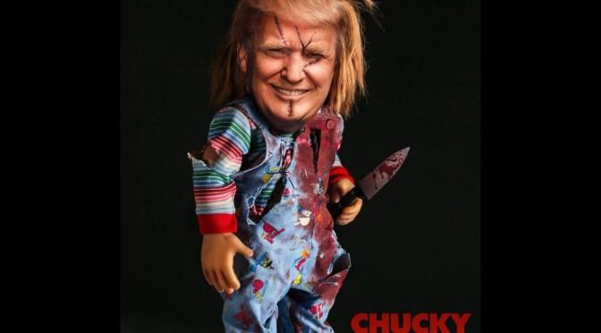 CHUCKY le (vrai) visage de l'Amérique par Mohawk Nation News