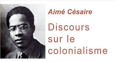 Discours sur le colonialisme d'Aimé Césaire, 1950 ; Texte intégral en version PDF