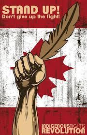 COLONS !  Arrêtez de jouer avec nous ! Par Mohawk Nation News
