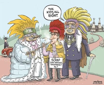 """L'expression """"First Nations / Nations Premières"""" est une étiquette de l'entreprise coloniale par Mohawk Nation News"""
