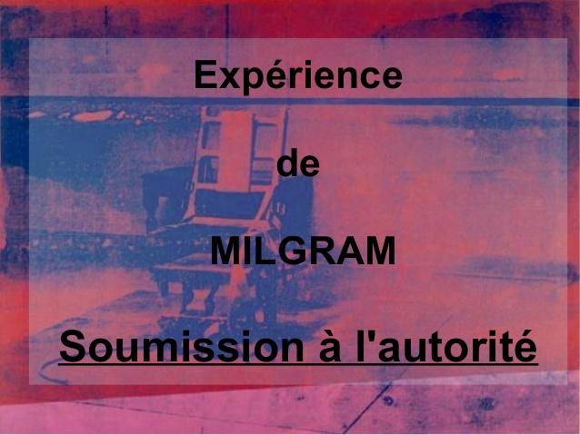 La France soumise à l'Expérience de Milgram grandeur nature…