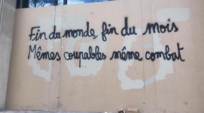 Communiqué de la 2nde Assemblée des Assemblées des Gilets Jaunes de Saint-Nazaire des 5-6-7 avril 2019