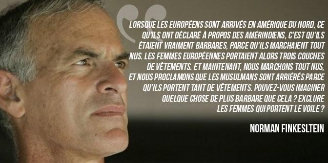 Entretien coup de poing avec Norman Finkelstein, Professeur de science politique et militant antisioniste…