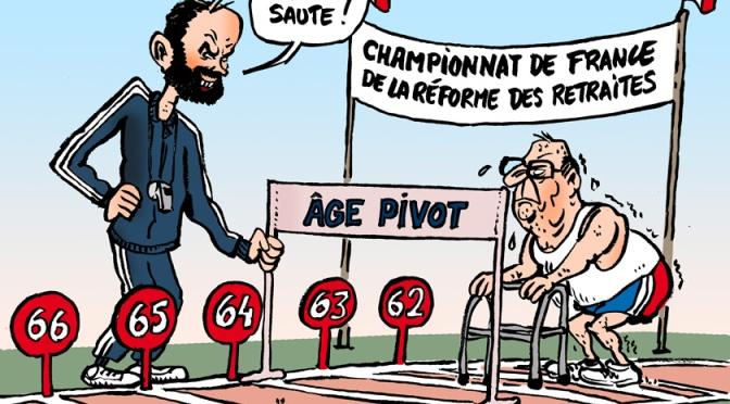 Copie d'écran du site officiel d'Info Retraite.fr pour preuve que l'âge pivot est intégré au calcul de votre future retraite ! (version PDF)