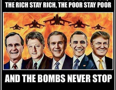 Pour le Gouvernement US, la cible a toujours été l'Iran !