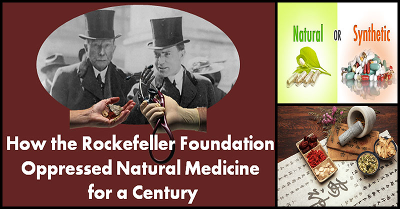 How Rockefeller Founded Big Pharma And Waged War On Natural Cures ...
