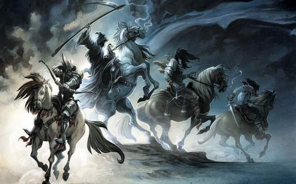 Les Cavaliers de l'Apocalypse Sanitaire…