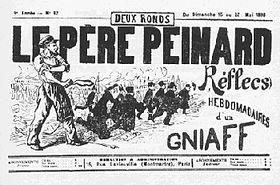 Faramineuse consultation sur l'avenir par Émile Pouget, Le Père Peinard, 1896, nouvelle version PDF gratos…