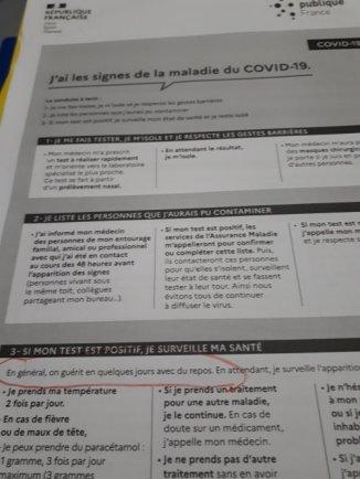 CONSIGNES EN CAS DE COVID ALORS POURQUOI UN VACCIN