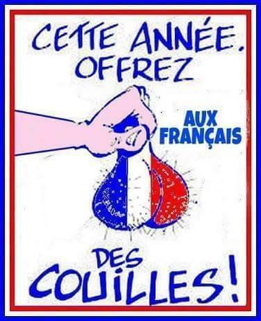 offrez des couilles aux français