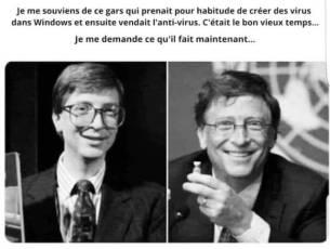 Anti virus du virus Bill Gates