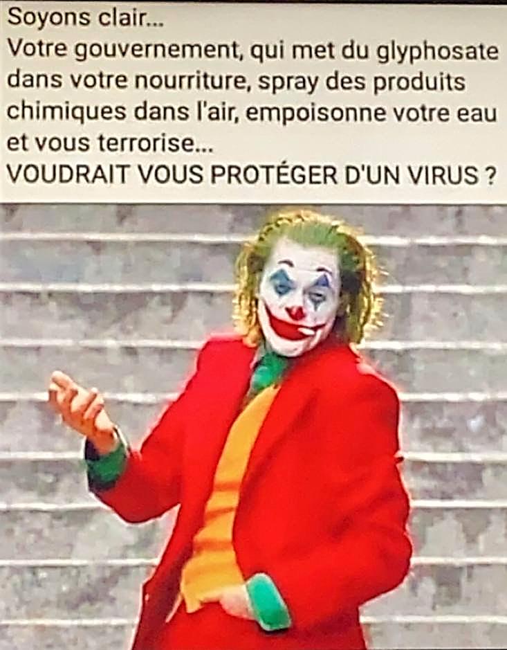 AUCOVIDiots du Joker