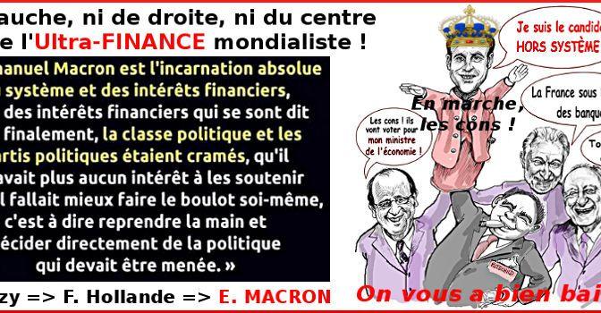 NOUVEL INSTANTANÉ DE RIEN pour faire foirer le PROJEEEET de Macron et son monde…