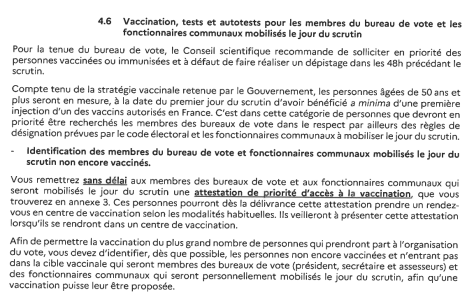 ORGANISATION ELECTIONS RETD