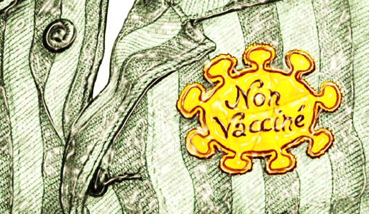 AUX NAZILLONS COVIDISTES QUI POUSSENT À LA VAXXINATION OBLIGATOIRE !