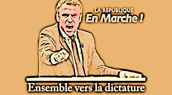Frankistan, Juillet 2021, Macron-le-Fou-Fou déclare la ségrégation sanitaire…