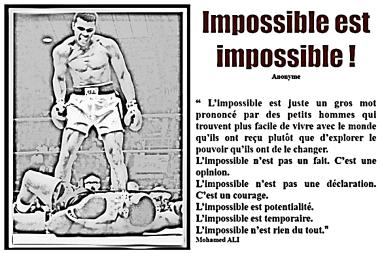 ALI Impossible est impossible