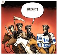 4 cavaliers de la crise sanitaire, seriously