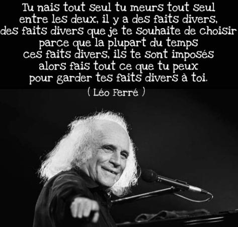 Léo Ferré RIEN 29 09 21